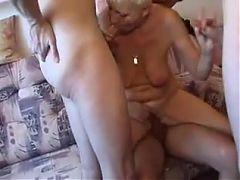 German Granny Groupsex